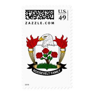 Roosevelt Family Crest Stamps