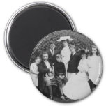 Roosevelt Family Fridge Magnet