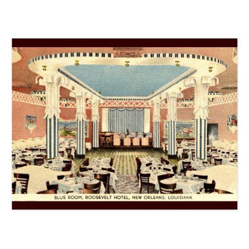 Roosevelt Hotel New Orleans LA Vintage Post Card