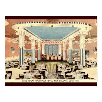Roosevelt Hotel New Orleans LA Vintage Postcard