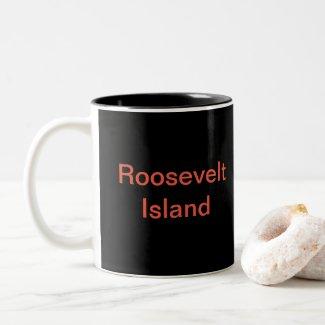 Roosevelt Island Red Mug