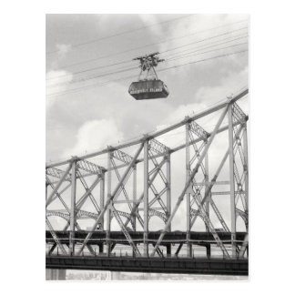 Roosevelt Island Tramway, NYC, Analog (film) photo Postcard