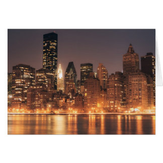 Roosevelt Island View of the New York City Skyline Cards