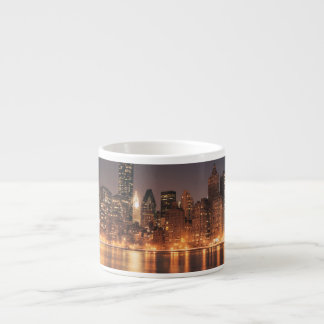 Roosevelt Island View of the New York City Skyline Espresso Cup