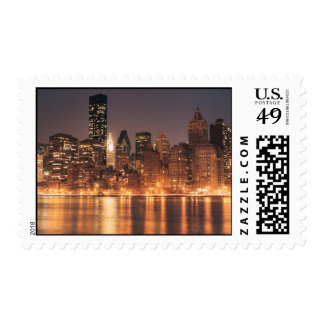 Roosevelt Island View of the New York City Skyline Postage