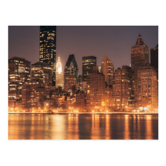Roosevelt Island View of the New York City Skyline Postcard
