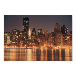 Roosevelt Island View of the New York City Skyline Print