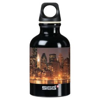Roosevelt Island View of the New York City Skyline SIGG Traveler 0.3L Water Bottle