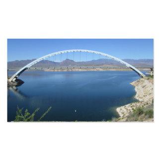 Roosevelt Lake Arch Bridge Business Card