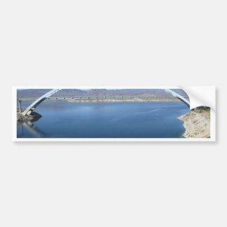 Roosevelt Lake Arch Bridge Car Bumper Sticker