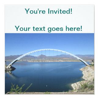 Roosevelt Lake Arch Bridge Card