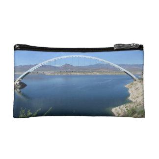 Roosevelt Lake Arch Bridge Cosmetic Bag