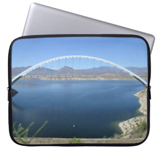 Roosevelt Lake Arch Bridge Laptop Sleeve