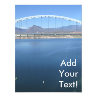 Roosevelt Lake Arch Bridge Magnetic Card