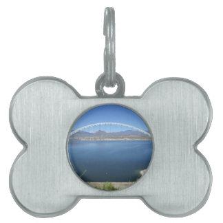 Roosevelt Lake Arch Bridge Pet ID Tags