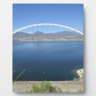 Roosevelt Lake Arch Bridge Plaque