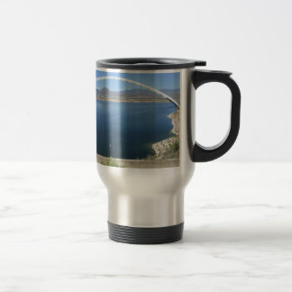 Roosevelt Lake Arch Bridge Travel Mug