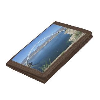 Roosevelt Lake Arch Bridge Tri-fold Wallet