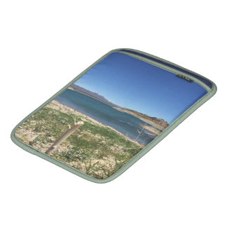 Roosevelt Lake Brush Panorama iPad Sleeve