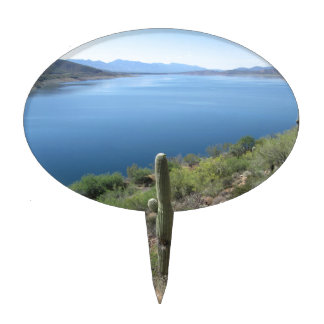 Roosevelt Lake Cake Topper