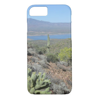 Roosevelt Lake From Tonto National Monument iPhone 8/7 Case