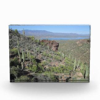Roosevelt Lake View Tonto National Monument Acrylic Award