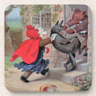 Roosevelt lleva el Caperucita Rojo del juego Posavasos