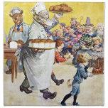 Roosevelt lleva la panadería mantecosa servilleta