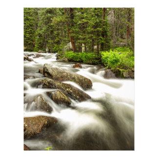 Roosevelt National Forest Stream Letterhead