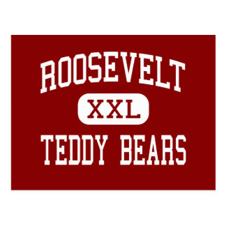 Roosevelt - Teddy Bears - Middle - Port Angeles Post Card