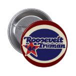 Roosevelt Truman 44 2 Inch Round Button