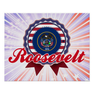 Roosevelt, UT Print