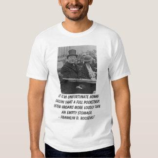 Roosevelts, It is an unfortunate human failing ... T Shirt