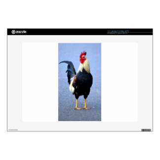 """Rooster 15"""" Laptop Decals"""