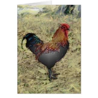 Rooster 1 card