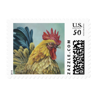 Rooster 1 Stamp