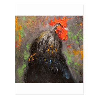 Rooster#434 Postcard