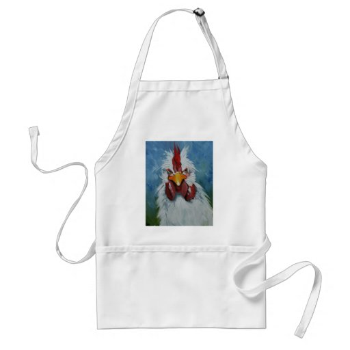 Rooster#455 Aprons