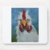 Rooster#455 Mouse Pad