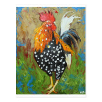 Rooster#485 Postcard