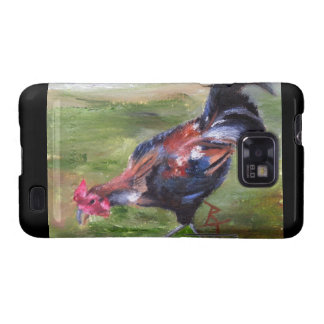 Rooster aceo Samsung Galaxy Case Samsung Galaxy S2 Cover