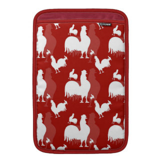 Rooster and Chickens MacBook Sleeve