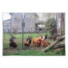Rooster and His Girls Placemat