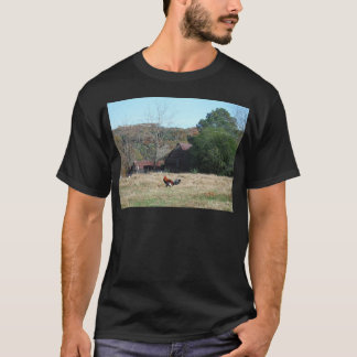 Rooster at the Farm Photo by Sandy Closs. T-Shirt