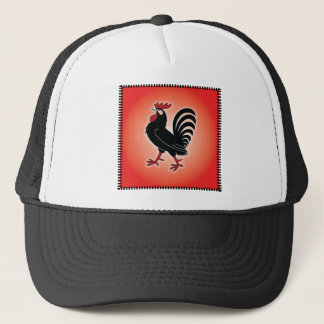 Rooster Attitude Trucker Hat