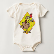 Rooster Baby Bodysuit