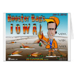 Rooster Bags Iowa Greeting Card