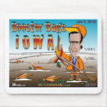 Rooster Bags Iowa Mousepads