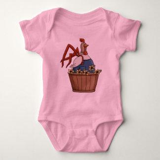 Rooster Basket Baby Bodysuit