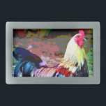 "Rooster Belt Buckle<br><div class=""desc"">Forgo subtlety with this rooster belt buckle.</div>"